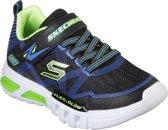 Skechers Flex Glow Jongens Sneakers - Blauw - Maat 29