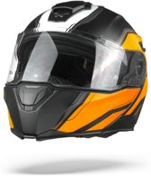 Nexx X.Vilitur Paradox Black Orange Matt  Systeemhelm - Motorhelm - Maat M