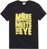Minions-T-shirt-met-korte-mouw-zwart-maat-L