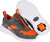 Heelys Rolschoenen Force - Sneakers - Kinderen - Maat 40.5 - grijs/oranje
