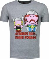 Mascherano Romans - T-shirt - Grijs - Maten: M