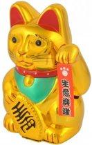 Maneki Neko - zwaaiende kat - geluksbrenger Chinese kat - Japanse gelukskat Lucky Cat