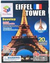 Jonotoys Puzzel 3d Eiffeltoren