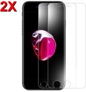 MMOBIEL 2 Stuks iPhone 6 Plus / 7 Plus / 8 Plus Glazen Screenprotector Tempered Gehard Glas 2.5D 9H (0.26mm) - inclusief Cleaning Set