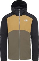The North Face Stratos Heren Outdoor Jas - New Taupe Green/TNF Black/British Khaki - Maat L