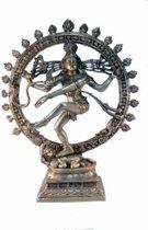 Shiva Nataraj messing 1 kleur groot - 83 cm - 23000 g