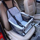 Stoelbeschermer - Autostoel beschermhoes voor honden - Stoelhoes - Honden autostoel 40 x 30 cm - Grijs