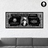 One Dollar I Al Capone  I 130 x 55 cm  I Schurk Design