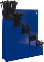 Set: opbergrek + 500 zwarte kabelbinders in div. maten (099.0217)