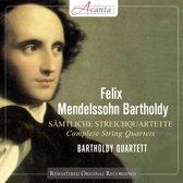 Mendelssohn-Bartholdy; Complete String Quartets