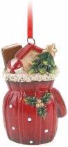 Kersthanger cadeauzak 8 cm - kerstboomhanger