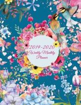 2019-2020 Weekly Monthly Planner