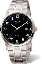 Boccia Titanium 3621.01 horloge - Titanium - Zilverkleurig - 40 mm