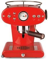 illy X1 Ground - Pistonmachine - Rood (voor gemalen koffie)