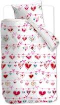 Beddinghouse Kids Garland Dekbedovertrek - Eenpersoons - 140x200 cm - Pink