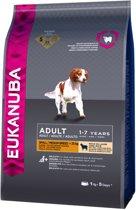 Eukanuba Dog Adult - Small & Medium Breed - Lam/Rijst - Hondenvoer - 1 kg