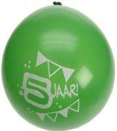 8x ballonnen 5 jaar