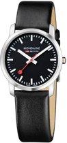 Mondaine A400.30351.14SBB Simply Elegant - Horloge - 36 mm - Mat RVS.