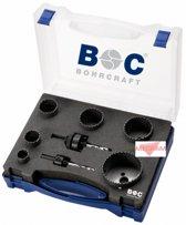 Bohrcraft BI-Metalen gatzagen HSS, Allround gatzagenset 8-delig - gatzaagset