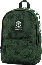 Franklin & Marshall Campus Double -  Rugzak - Green Camp Allover