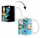 Rick and Morty - Jerry and Mr Meeseeks Heat Changing Mug 315ml