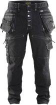 Blåkläder 1999-1141 Werkbroek Stretch Zwart maat 52