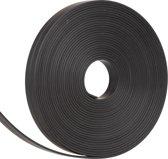 Whiteboard Lijnen Magnetisch Zwart 5 m x 10 mm