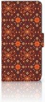 Sony Xperia XZ3 Bookcase Batik Brown