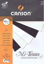 Canson Mi-Teintes pastelblok 160gr. 29,7x42