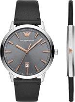 Emporio Armani horloge  - Zwart