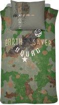 Damai Earth Saver Dekbedovertrek - Groen - 1 - persoons - 140x200 cm