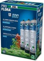 JBL ProFlora 3x u500 CO2-wegwerp voorraadfles (set van 3)