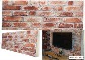 4x 3D Wanddecoratie Wandpanelen Muurdecoratie, Muur bekleding Baksteen Barok, Natuursteen, Steenstrips