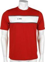 JAKO Player - Voetbalshirt - Heren - Maat S - Rood/Wit