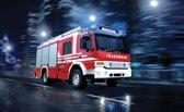 Brandweer - Behang - 416X254CM