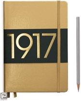 Leuchtturm1917 notitieboekje limited edition medium A5 dotted metallic goud