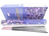 1x Darshan Lavendel wierook - 20 stokjes / geurstokjes