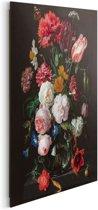 Stilleven  met bloemen Jan Davidsz de Heem - Schilderij 40 x 50 cm