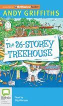 Boekomslag van 'The 26-Storey Treehouse'
