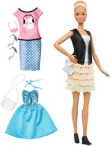 Barbie Fashionistas Leather & Ruffles - Barbiepop
