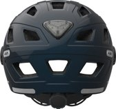 ABUS Helm Hyban + Smoke Visor Midnight Blue M 52-58