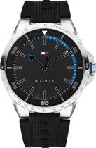 Tommy Hilfiger TH1791528 horloge - Zwart - Siliconen - Ø 44 cm
