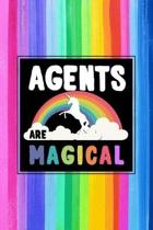 Agents Are Magical Journal Notebook