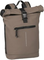New Rebels Waterproof Rolltop Rugzak met Laptopvak 15'' Mart taupe