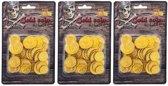Piraten munten goud 195 stuks