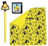 Angry Birds Stylus Set 3 Geel