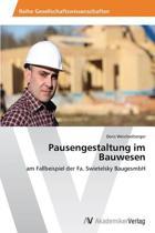 Pausengestaltung Im Bauwesen
