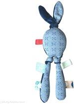 Knuffeltje Juno indigo blue Snoozebaby -  Maat Eén