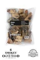 Smokey Olive Wood - Chunks - 5 kg Steeneik - hout voor de barbecue en smoker - grote brokken/chunks ø 5-10cm