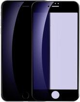 BASEUS 3D Curved Anti-blue-ray Soft PET Full Tempered Glass Gehard Glas Glazen Harde Screenprotector Protector iPhone 8/7 - Zwart